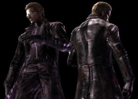 Wesker Model: Front to Back 1 by DragonKeeper333