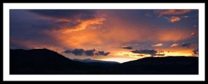 Penticton Sunset by NaujTheDragonfly