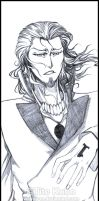 BLEACH - Stark Sketch by Washu-M