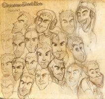 CinnamonToastKen - Sketches by ScribbleNetty