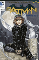 Selina Kyle Sketch Cover - Colours by ColletteTurner