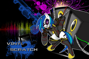 Vinyl Scratch - The CellDweller by DankoDeadZone