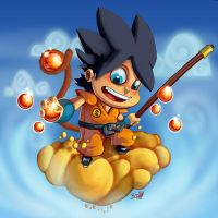 DAC: Goku Re-Imagine by BrokeJonez