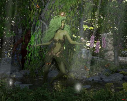 Forest people by Hera-of-Stockholm