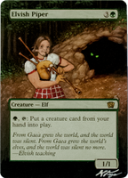 Elvish Piper - MtG Alter (Roddy Piper) by closetvictorian