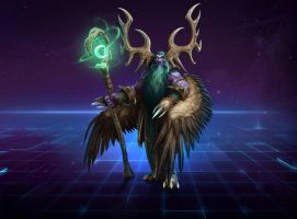 Malfurion (Warcraft) by Airachnid1301