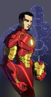 Ironman coloured by Jukkart