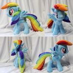 Rainbow Dash Commish by ShiloT