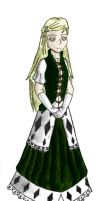 UC: Henevi - The Blind Queen by Doofus-the-Cool
