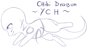 {closed} Chibi dragon YCH 2 by Ivon-Cheetah