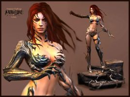"""Witchblade"" by Ketka"
