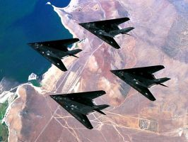 F-117a Nighthawks by rclarkjnr