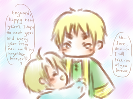 (Hetalia) Forgetten Promised (UKUS) by Hyperkaoru13