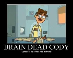 Total Drama Stroke  Cody by AbominationOfTime