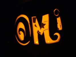 Back of Omi pumpkin by Captain-Sparrow