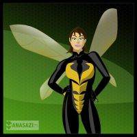 Wasp by KileyBeecher