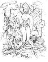 Commish Sketch 29 by RobDuenas