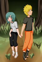 Holding hands:30 day OTP challenge by ScabraHari