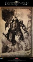 Joe Dever's Lonewolf illustration 05 by brahamil
