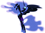 Nightmare Moon Rearing Up by 90Sigma