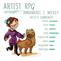 Meet the Artist: RPG Edition by FlockofFlamingos