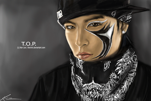 T.O.P from Big Bang by KenXVII