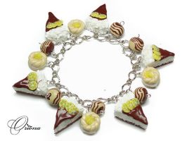 Bracelet 'Lemon' by OrionaJewelry