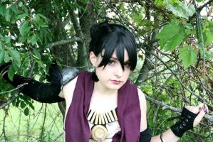 Morrigan - Framed in Trees 2 by LadySiha