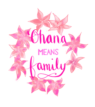 Request: 'Ohana means family by request-art