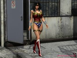 [W.I.P] New Wonder Woman outfit II by mrbunnyart