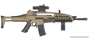 Black Ops 2 M8A1 (Final Version, Custom) by Scarlighter