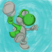 Yoshi (WIP) 2 by pascalscribbles