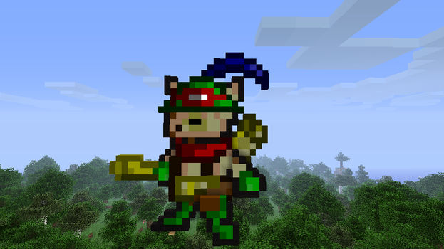 Teemo Minecraft Picture Art by Felix-0