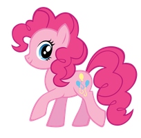 Pinkie BB FiM colors vector by Durpy