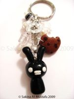 Mr Bunny Key Chain by ChocoAng3l