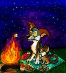 Summer Campfire by wahyawolf