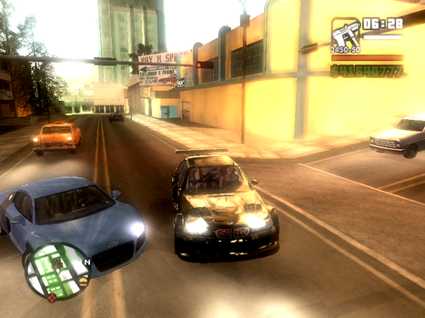 2 Pac in a Car on my Game by Cha0sFR3AK