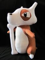 Cubone Plushie by NocturnalEquine