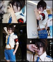 Cosplay : Heero Yuy -GW- by Zeasonal
