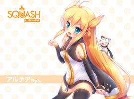 Squash Alternative Mascot - Altea chan by KANE-NEKO