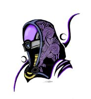 Tali tattoo by Northwolf89