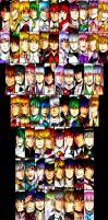 Touhou Project Battlecuts 2014 by KelbremDusk