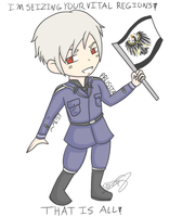 APH: Prussia T-shirt Design by CaittheCat