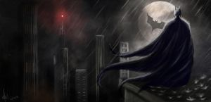 Batman: Dark Knight by Marxl