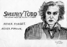 Sweeney Todd by DarkMind22