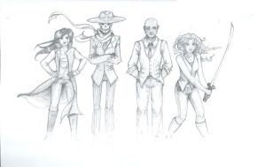 The Gang by Xanthe-Grey