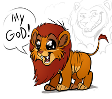 The Lion MY GOD! by VengefulSpirits