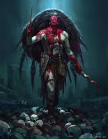 Blood Priest by Vablo