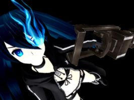 .:Black Rock Shooter:. by ayuuumiiieeex
