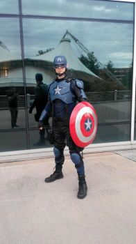 Captain America at Fanboy Knoxville by philorion7